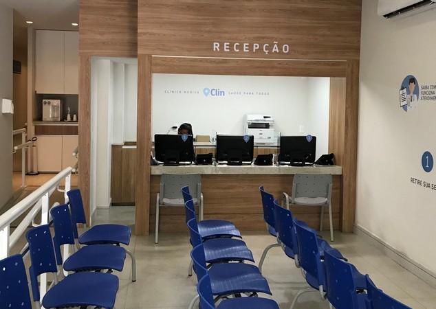 Nova oportunidade para Recepcionista em Clínica